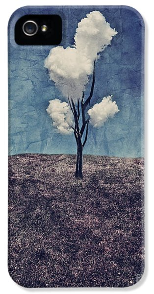 Tree Clouds 01d2 IPhone 5s Case by Aimelle