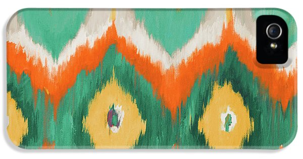 Pattern iPhone 5s Case - Tropical Ikat II by Patricia Pinto
