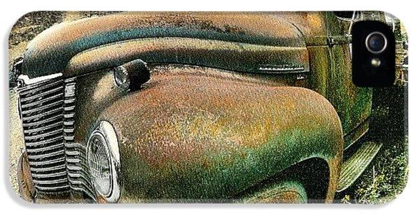Classic iPhone 5s Case - #truck #rust #rusty #pickup #photo by Jill Battaglia