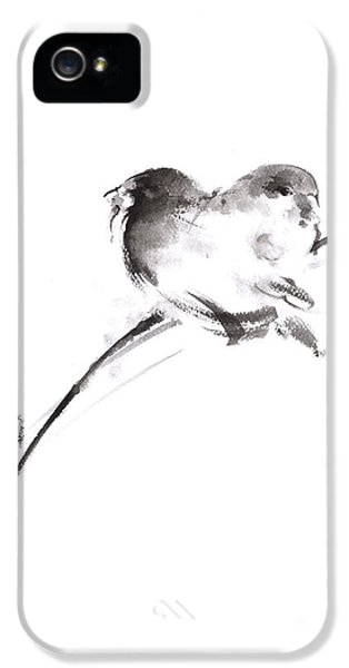 Two Birds Minimalism Artwork. IPhone 5s Case by Mariusz Szmerdt