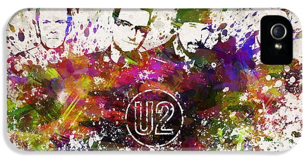 U2 In Color IPhone 5s Case by Aged Pixel