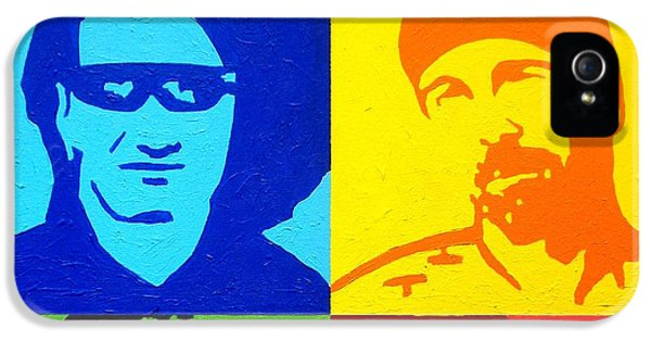 U2 IPhone 5s Case by John  Nolan