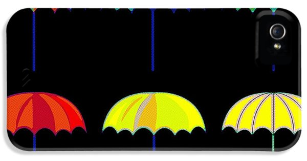 Umbrella Ella Ella Ella IPhone 5s Case by Florian Rodarte