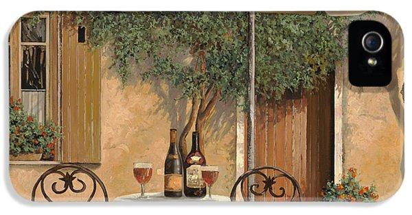 Wine iPhone 5s Case - Un Altro Bicchiere Prima Di Pranzo by Guido Borelli