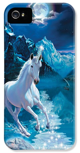 Unicorn IPhone 5s Case by Andrew Farley