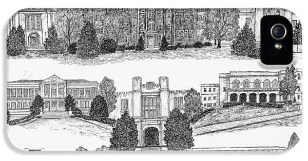 University Of Arkansas Fayetteville IPhone 5s Case