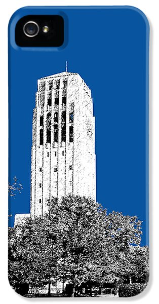 University Of Michigan - Royal Blue IPhone 5s Case by DB Artist