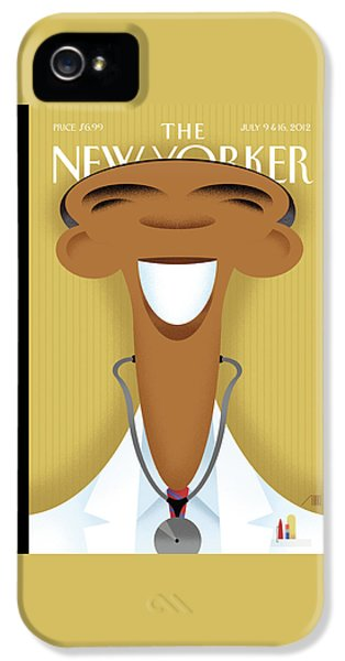 Doctor iPhone 5s Case - New Yorker July 9th, 2012 by Bob Staake
