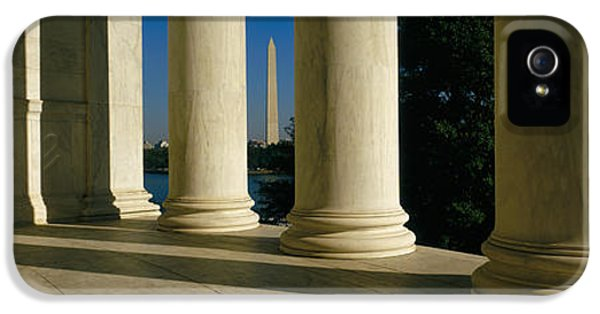 Usa, District Of Columbia, Jefferson IPhone 5s Case by Panoramic Images