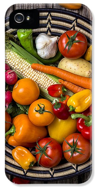 Vegetable Basket    IPhone 5s Case by Garry Gay