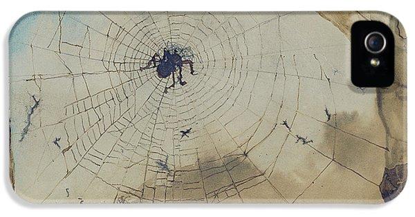 Vianden Through A Spider's Web IPhone 5s Case by Victor Hugo