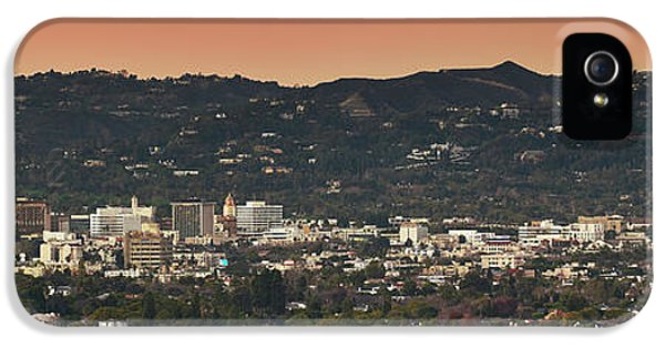 View Of Buildings In City, Beverly IPhone 5s Case by Panoramic Images