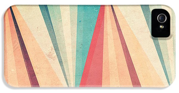 Pattern iPhone 5s Case - Vintage Beach by VessDSign