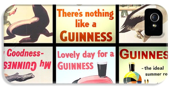Vintage Guinness  IPhone 5s Case by Georgia Fowler