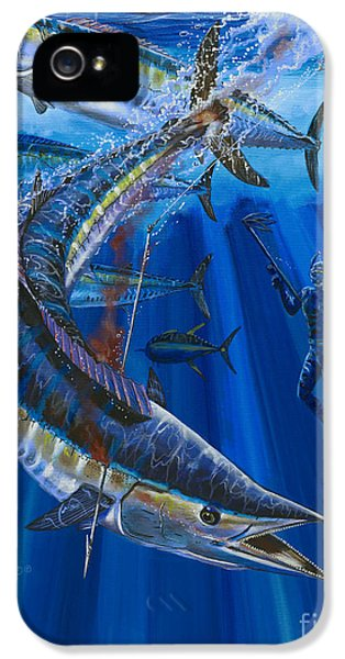 Wahoo Spear IPhone 5s Case by Carey Chen