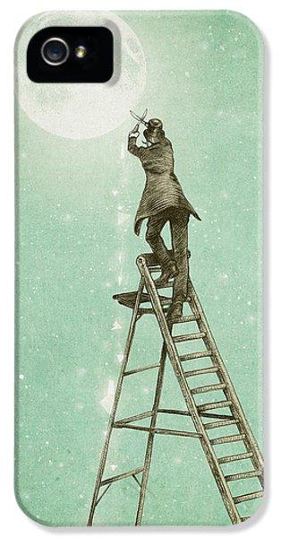 Fantasy iPhone 5s Case - Waning Moon by Eric Fan