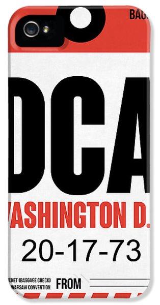 Washington D.c. Airport Poster 1 IPhone 5s Case