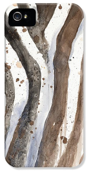 Watercolor Animal Skin II IPhone 5s Case by Patricia Pinto