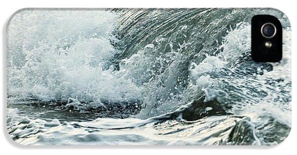 Water Ocean iPhone 5s Case - Waves In Stormy Ocean by Elena Elisseeva