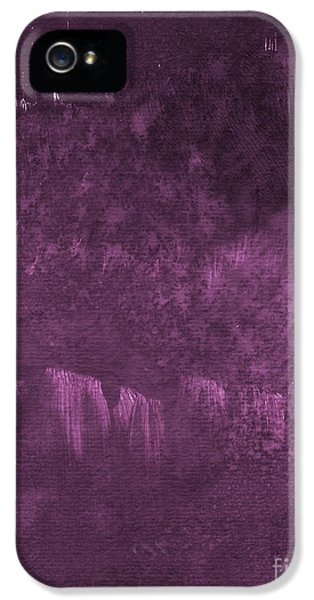 Orchid iPhone 5s Case - We Are Royal by Linda Woods