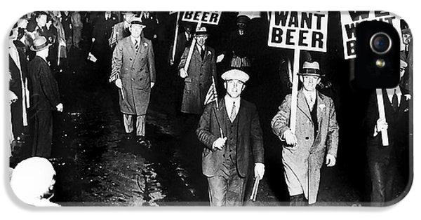 We Want Beer IPhone 5s Case by Jon Neidert