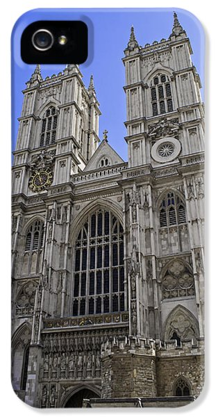 Westminster Abbey iPhone 5s Case - Westminster Abbey. by Fernando Barozza