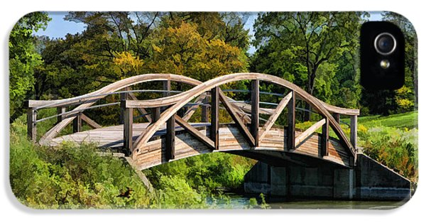Wheaton Northside Park Bridge IPhone 5s Case by Christopher Arndt