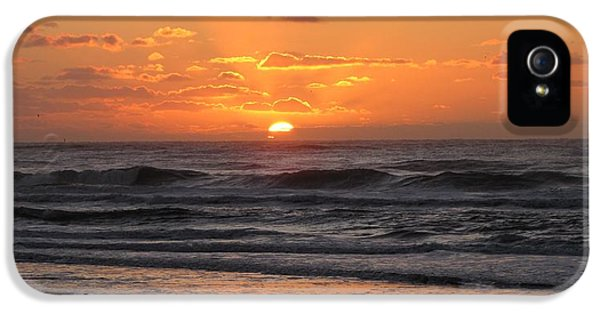 Wildwood Beach Here Comes The Sun IPhone 5s Case by David Dehner