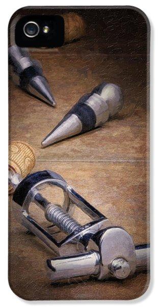 Wine iPhone 5s Case - Wine Accessory Still Life by Tom Mc Nemar