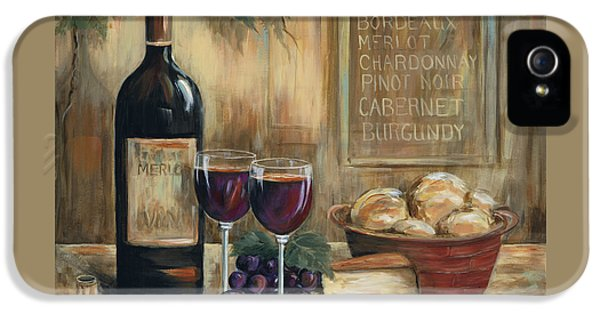 Wine For Two IPhone 5s Case by Marilyn Dunlap