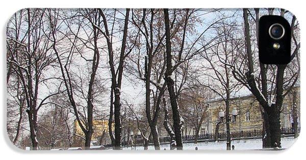 Winter Boulevard IPhone 5s Case by Anna Yurasovsky