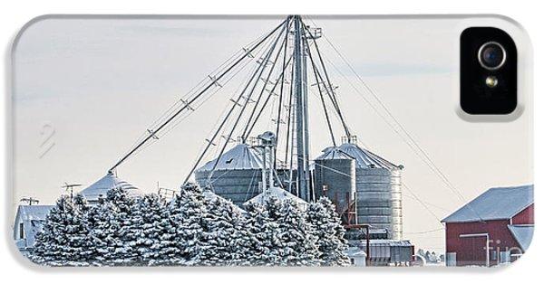 Winter Farm  7365 IPhone 5s Case by Jack Schultz