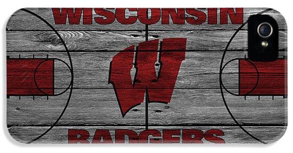 Wisconsin Badger IPhone 5s Case by Joe Hamilton