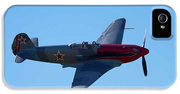 Yakovlev Yak-3 - Wwii Russian Fighter IPhone 5s Case by David Wall