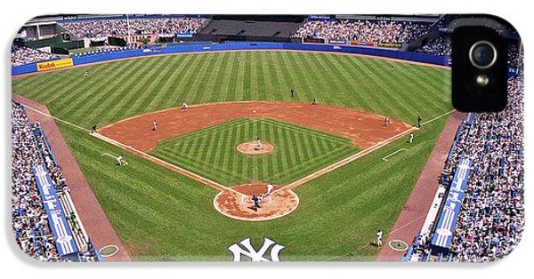 Yankee Stadium IPhone 5s Case by Allen Beatty