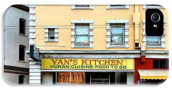 Architecture iPhone 5s Case - Yan's Kitchen by Julie Gebhardt