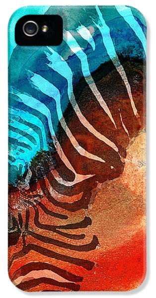 Zebra Love - Art By Sharon Cummings IPhone 5s Case