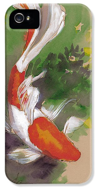 Zen Comet Goldfish IPhone 5s Case by Tracie Thompson
