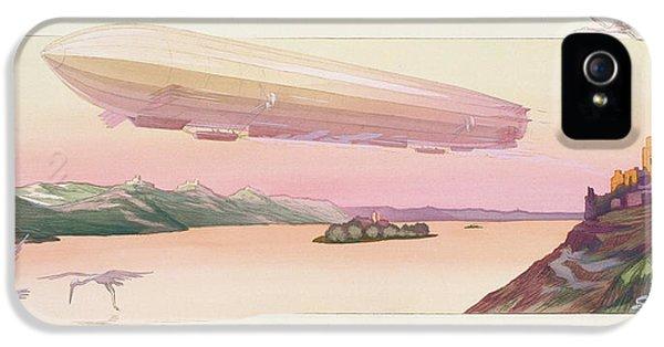 Zeppelin, Published Paris, 1914 IPhone 5s Case by Ernest Montaut