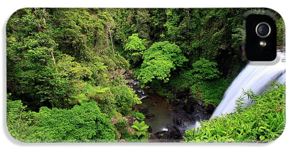 Far North Queensland iPhone 5s Case - Zillie Falls Is One Of Three Popular by Paul Dymond