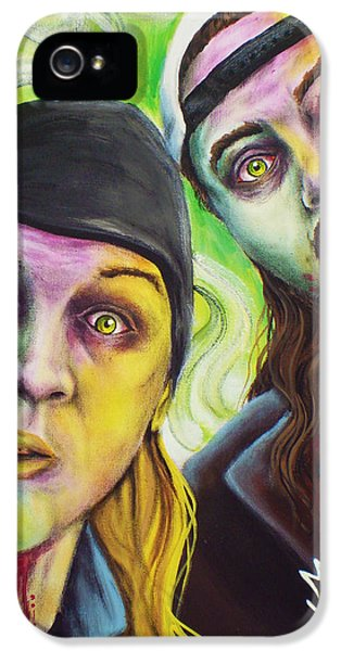 Ben Affleck iPhone 5s Case - Zombie Jay And Silent Bob by Mike Vanderhoof