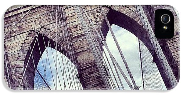 Summer iPhone 5s Case - Brooklyn Bridge by Randy Lemoine
