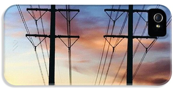 Amazing iPhone 5s Case - Electric Sunset by James Granberry