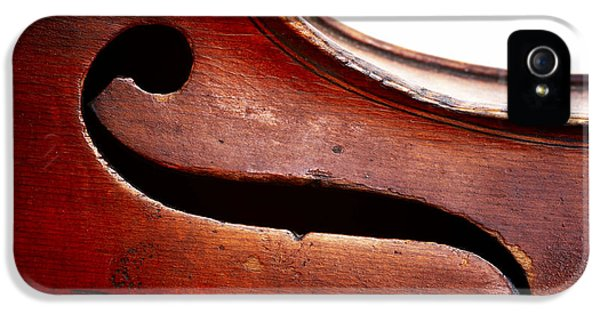 Violin iPhone 5s Case - G Clef by Michal Boubin
