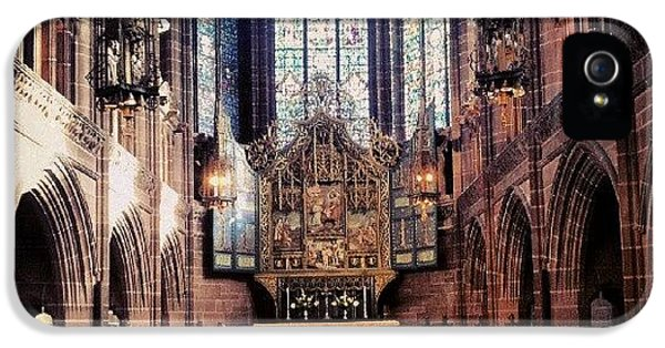 Classic iPhone 5s Case - #liverpoolcathedrals #liverpoolchurches by Abdelrahman Alawwad