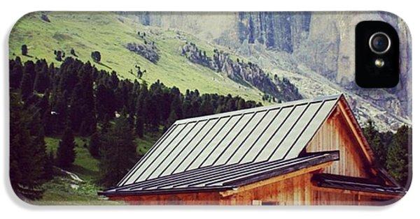 House iPhone 5s Case - Rosengarten - Dolomites by Luisa Azzolini