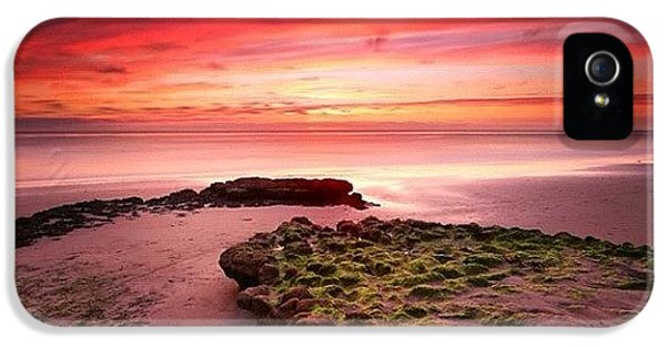 iPhone 5s Case - Long Exposure Sunset At A North San by Larry Marshall