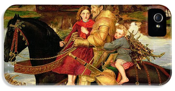 A Dream Of The Past IPhone 5s Case by Sir John Everett Millais