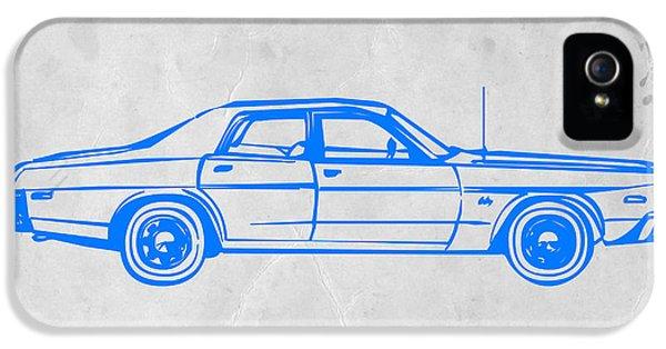 Landmarks iPhone 5s Case - American Car by Naxart Studio