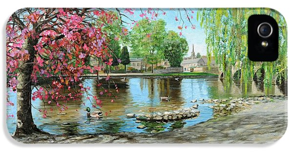 Bakewell Bridge - Derbyshire IPhone 5s Case by Trevor Neal